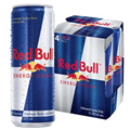 RED BULL ENERGY DRINK 355ML 4 PACK