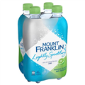 MOUNT FRANKLIN MINERAL WATER SPARKLING LIME 450ML