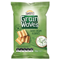 GRAIN WAVES SOUR CREAM AND CHIVES 90G