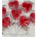 CTC HEART POP RED         100S