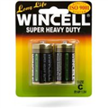 WINCELL SUPER HEAVY DUTY BATTERY C 2 PACK